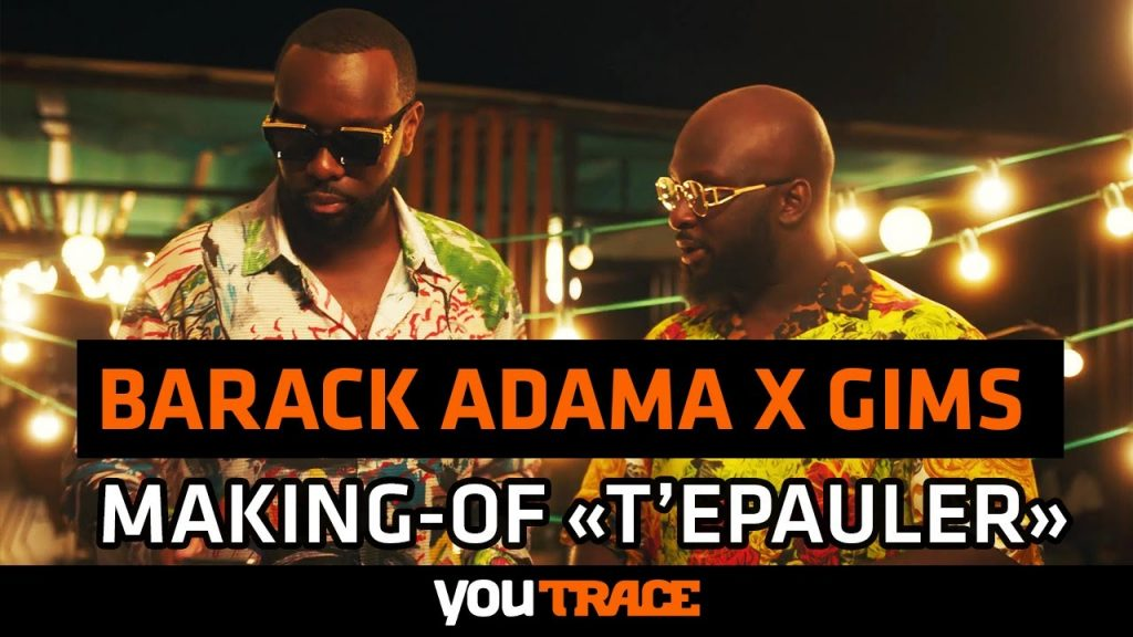 Barack Adama Feat. Gims – MAKING OF du clip « T'épauler »